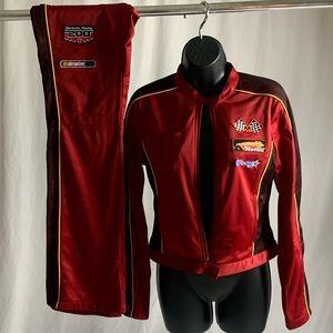 Vintage Jordache Race Track Suit